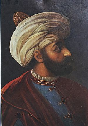 Nurbanu Sultan - Murad III, to whom Nûr-Banû was a Valide sultan during 1574 - 1583.