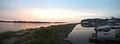 Sunrise over the Mississippi River (36413658823).jpg