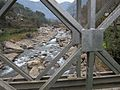Suspension bridge, Annapurna, Nepal, Another Crossing.jpg