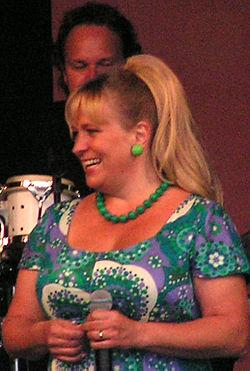 Sussie Eriksson ved Faldenes dage i Trollhättan den 21 juli 2007.