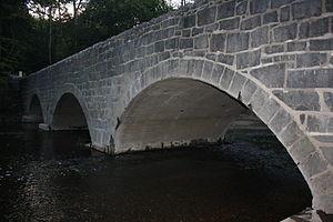 Sutch Road Bridge in Marlborough Township - Sutch Road Bridge. September 2012.