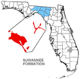 Suwannee Formation map.png