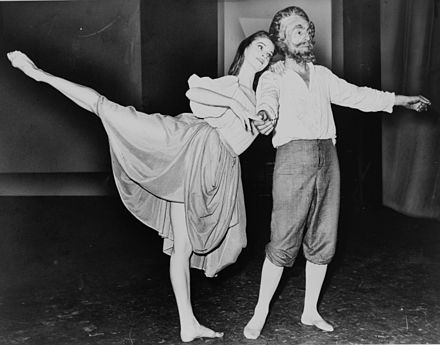 George Balanchine with Suzanne Farrell in his 1965 Don Quixote - Miguel de Cervantes