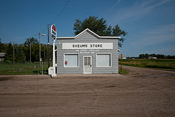 Sveums Store and US Post Office - McLeod