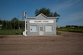 Sveums Store and US Post Office - McLeod, North Dakota 8-1-2009.jpg