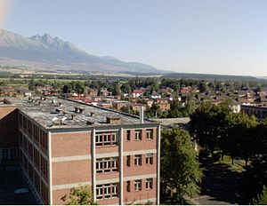 Garden city movement - Svit in Slovakia - originally in 1934 planned as a combination of an industrial and garden city.