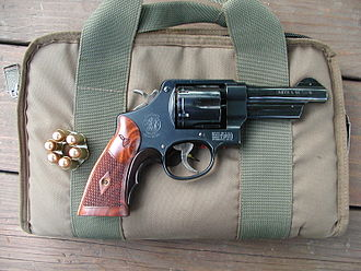 Smith & Wesson Model 22 - Image: Sw 22 4trr left