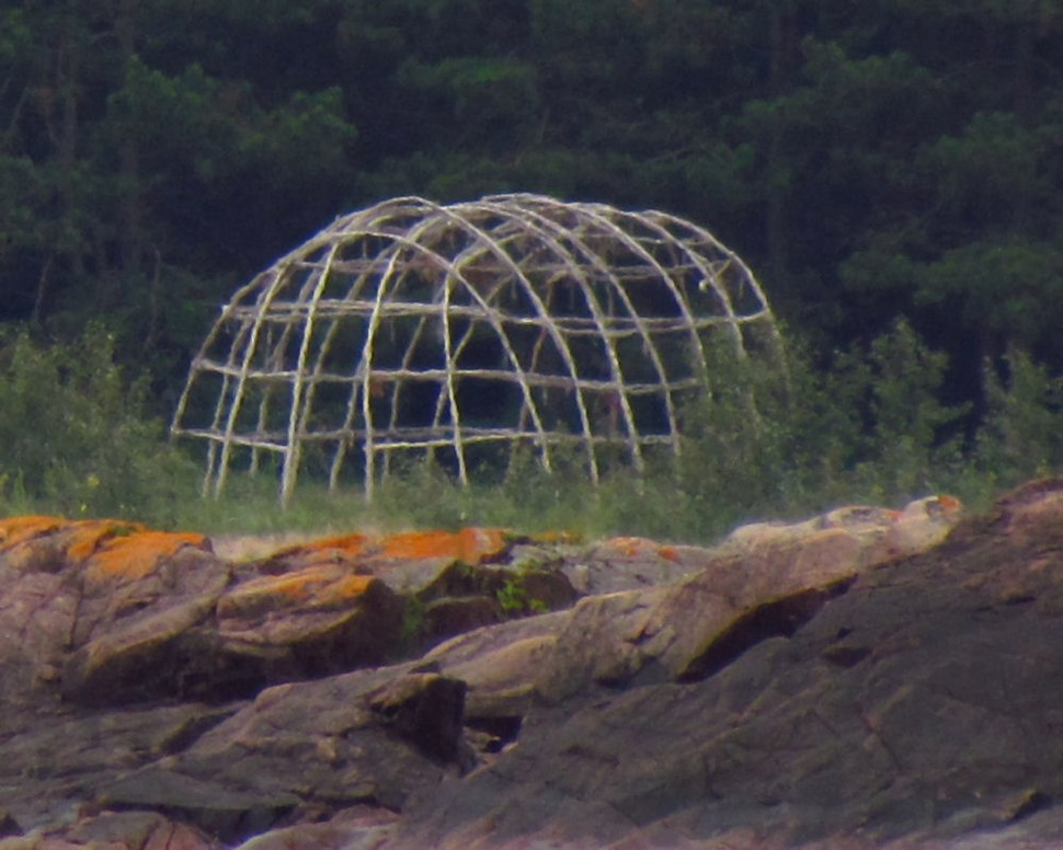 Sweat lodge at Lake Superior PP