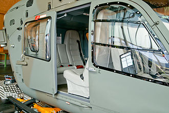 Eurocopter EC635 - Image: Swiss Air Force EC635P2+ T 351 cabin
