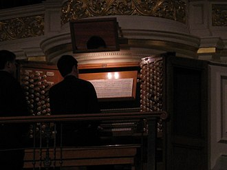 Sydney Town Hall Grand Organ - Image: Sydney Town Hall Organ Rehearsal
