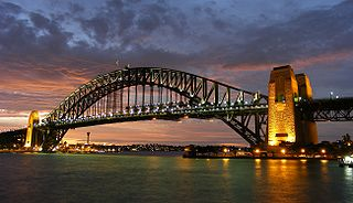Sydney Harbour Bridge Bridge across Sydney Harbour in Australia