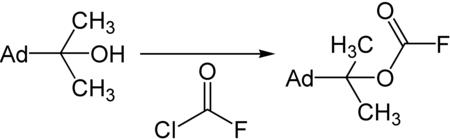 Synthese des ADPOC-Fluorids.