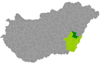 Szeghalom District Districts of Hungary in Békés