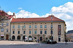 Szolayski House, 9 Szczepanski square,Old Town, Krakow,Poland.JPG