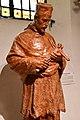 Szombathely, szaléziánus templom Nepomuki Szent János-szobra 2021 07.jpg