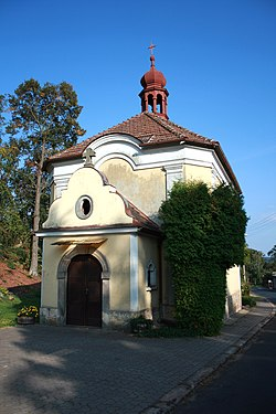 Church in Třebihošť