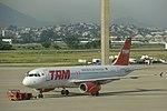 TAM Airbus at Galeão Airport, Rio de Janeiro, Brazil.jpg