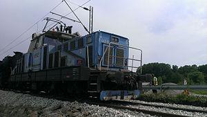 TPP Nikola Tesla - Class 443 electric locomotive of TPP Nikola Tesla.