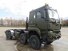 TG MIL TGS (8x8) Swedish Army trials vehicle