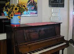 Piano Used In Top Gun, One Of The Few Items That Survived The 2008 Fire.  While Working In San Diego ...