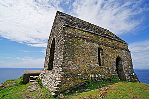 Rame Head - The chapel at Rame Head