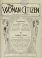THE WOMAN CITIZEN cover (October 1912).png