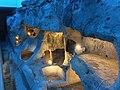 Ta' Bistra Catacombs, Illuminated.jpg
