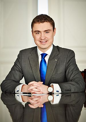 Estonian Reform Party - Taavi Rõivas - former PM of Estonia