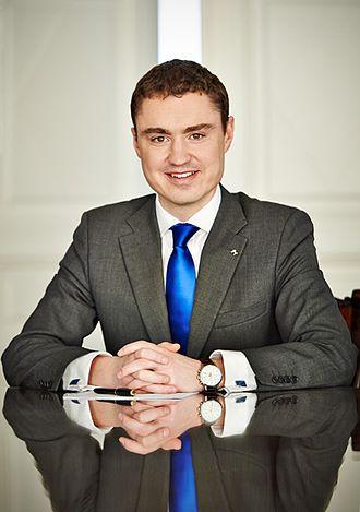Estonian Reform Party - Taavi Rõivas - former PM of Estonia