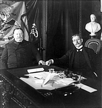 Elihu Root - Root with William Howard Taft in 1904.