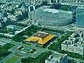 Taipeh Taipei 101 Blick von der Aussichtsplattform auf Sun Yat Sen Memorial 3.jpg