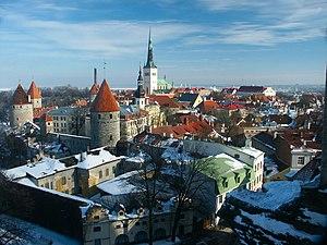 Vanalinn - Image: Tallinn Overview