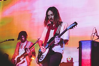 Tame Impala - Cam Avery and Kevin Parker, performing with Tame Impala in June 2014