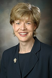 {{w|Tammy Baldwin}}, U.S. Congresswoman.
