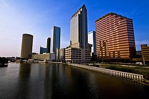 English: Skyline of Tampa, Florida