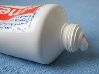 Tube (container) - Toothpaste in tube