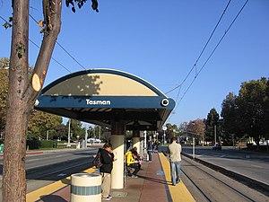 Tasman station - Tasman Station platform
