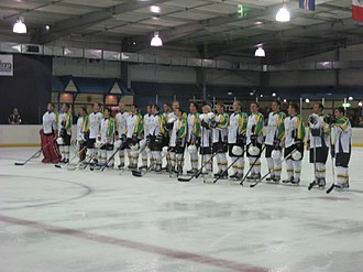 Australia men's national ice hockey team - Team Australia 2008