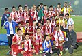 Team Nepal won Gold Medal in the Men's football event, at the 12th South Asian Games-2016, in Guwahati on February 15, 2016.jpg