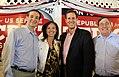 Ted Cruz, Alice Linahan, Rick Santorum, and Congressman Michael Burgess (7742719264).jpg
