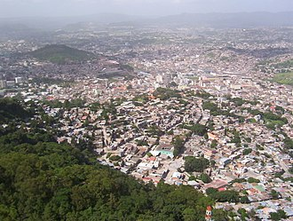 Municipalities of Honduras - Tegucigalpa, the capital of Honduras.