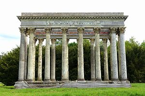 Robert Furze Brettingham - Temple Of Concord, Audley End House