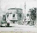 Temple des Cabines, construit sous Néron servant aujourd'hui de mosquée après avoir servi d'eglise consacrée à St P - CousinÉry Esprit Marie - 1831.jpg