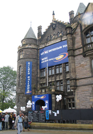 Gilded Balloon - The Gilded Balloon at Teviot Row House, during the 2004 festival