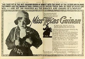 Texas Guinan - Image: Texas Guinan 1919