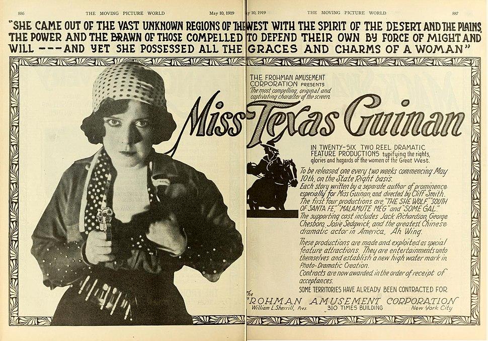 Texas Guinan 1919