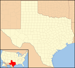 Wheelock is located in Texas