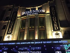 The Bodyguard (musical) - At the Dominion Theatre.