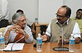 The Chief Minister of Delhi, Smt. Sheila Dikshit calls on the Minister of State (Independent Charge) for Consumer Affairs, Food and Public Distribution, Professor K.V. Thomas, in New Delhi on November 08, 2011.jpg