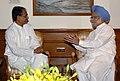 The Chief Minister of Madhya Pradesh, Shri Shivraj Singh Chauhan calling on the Prime Minister, Dr. Manmohan Singh, in New Delhi on June 02, 2009.jpg
